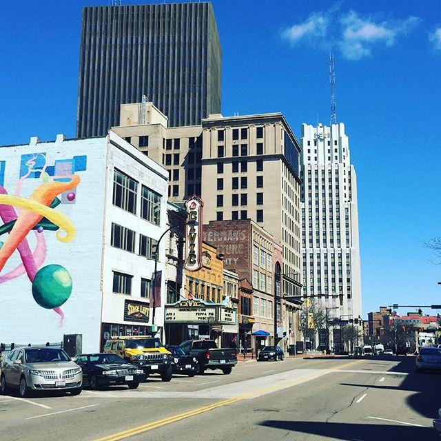 Downtown Akron 🌤 #akron #akronohio #ak #akrowdy #universityofakron #ua #zips #gozips