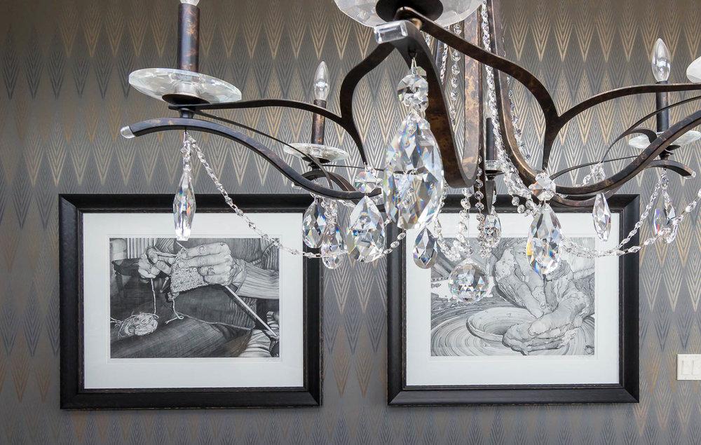 Calgary Luxury Home Dining Room