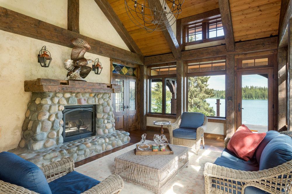 Rustic Timberframe Home, Caribou B.C.