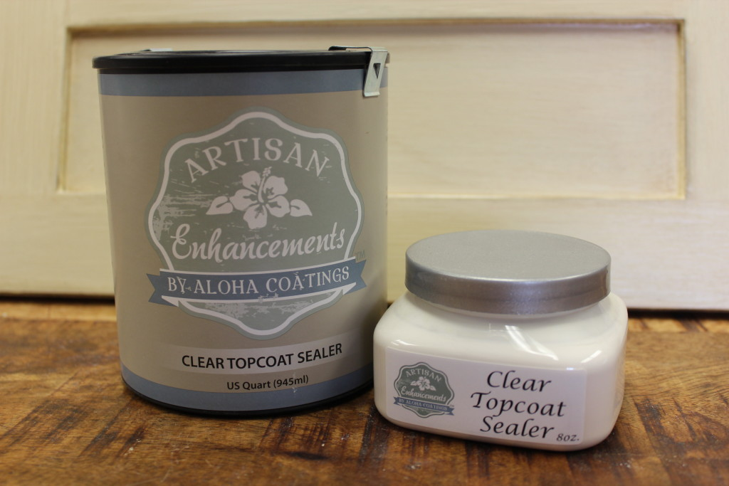 Clear Topcoat Sealer