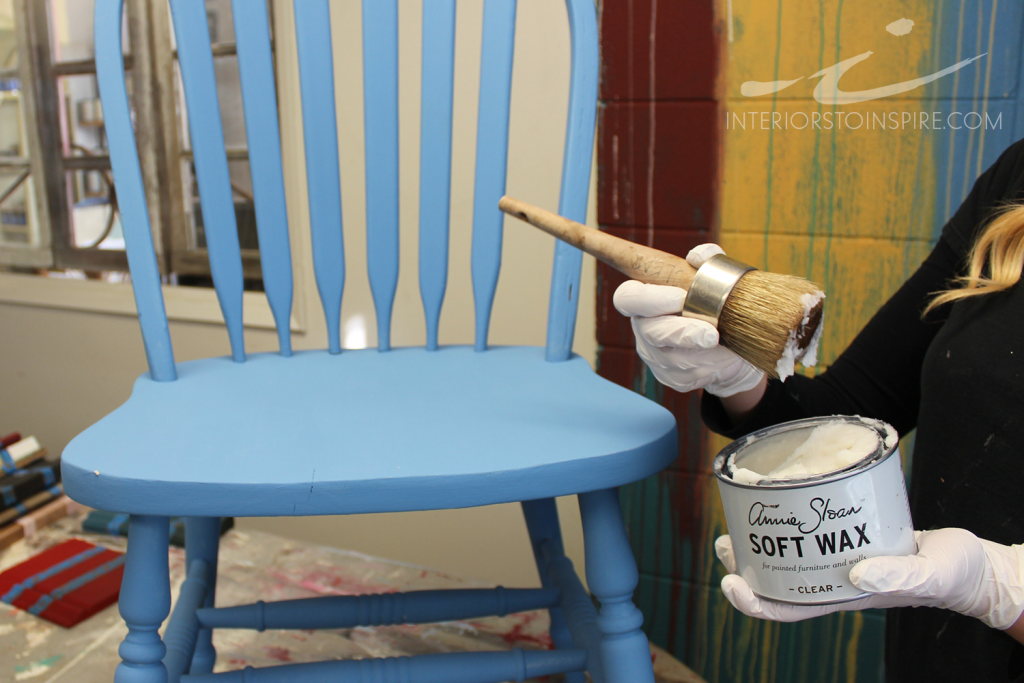 How to Use Annie Sloan Soft Wax with Chalk Paint™