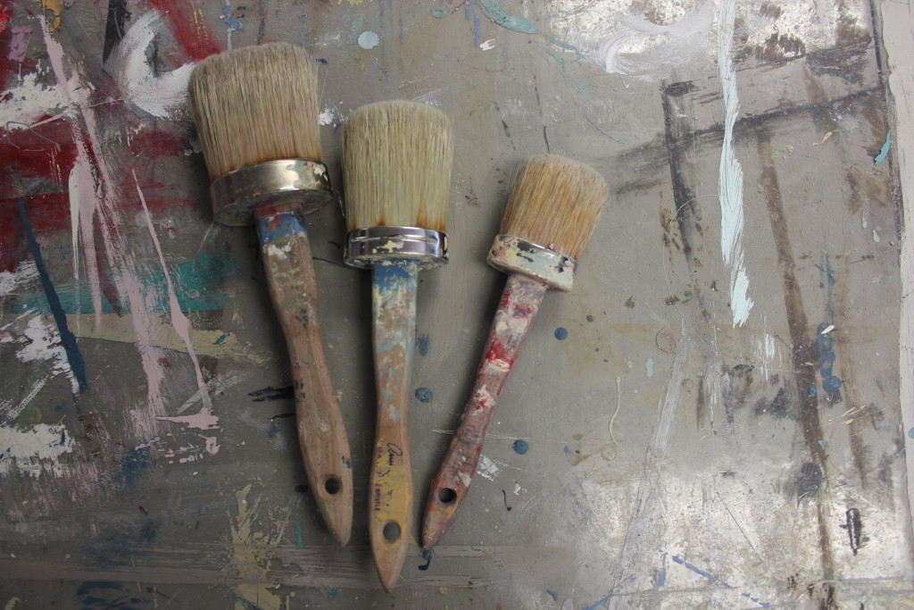 Annie Sloan Oval Natural Bristle Paint Brushes