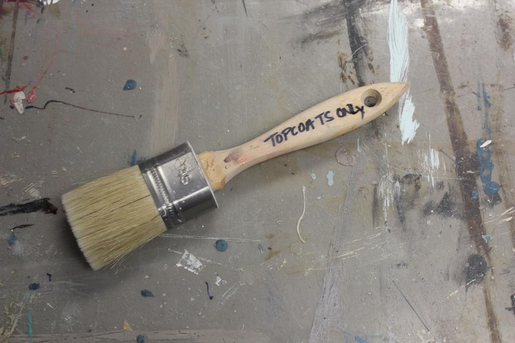 Artisan Enhancements Topcoat Brush