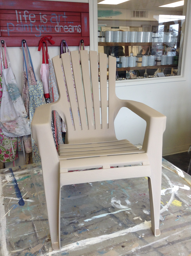 Chalk Paint™ by Annie Sloan and Artisan Enhancements Outdoor Finish