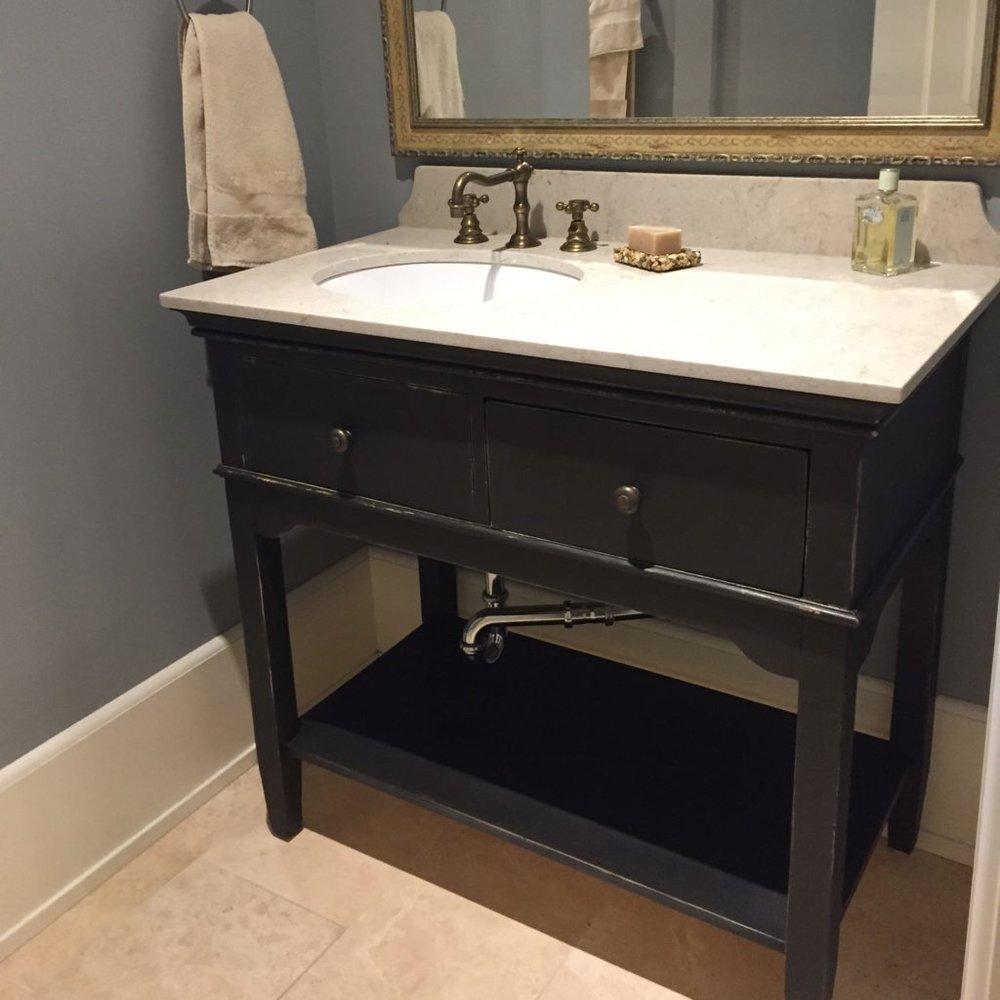 Chalk Paint Bathroom Vanities Interiors To Inspire