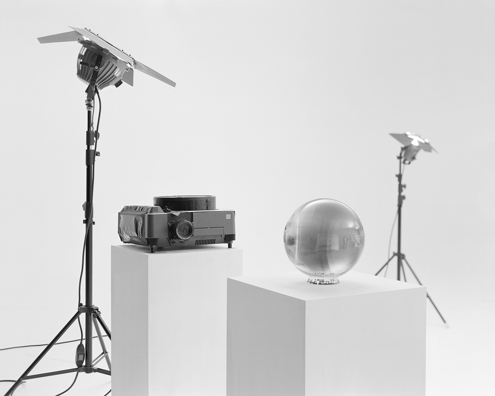 Demostration of Modified Ektapro 9020 Cine photographing Glass Sphere Negative #17