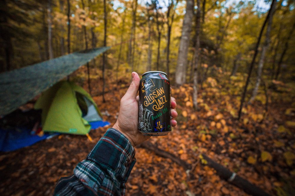 Fort Hill Brewery - outdoor themed content creation