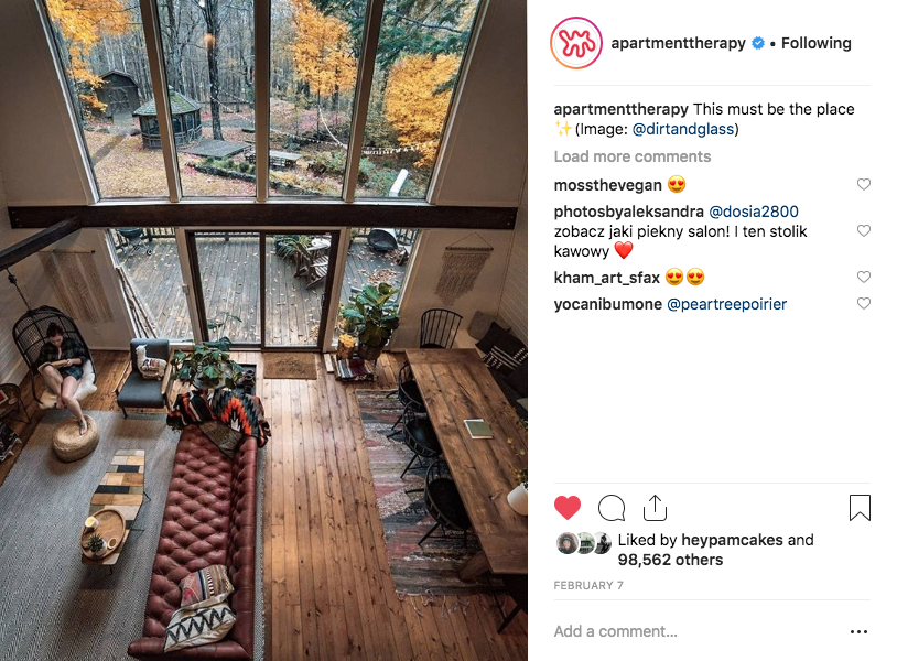 Top ranking photo on Apartment Therapy - 2019 feature of The Hunter Green House