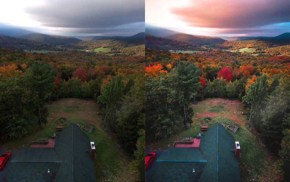 Fall Sunsets