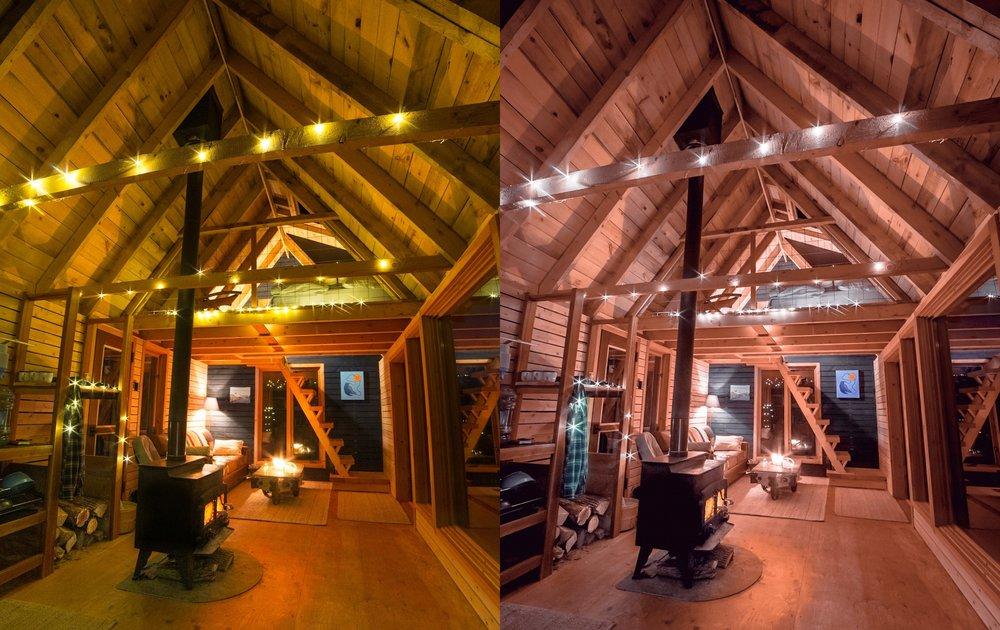 Night Glow Interior