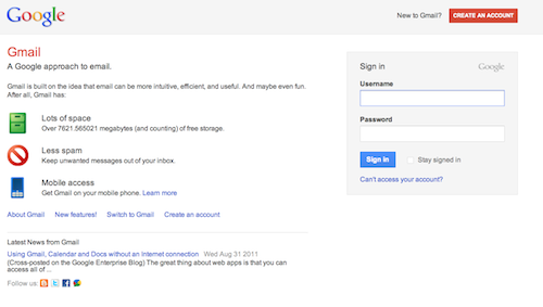 Latest Google Redesign Gmail Sign In Gets New Look LAUNCH - Google docs sign in