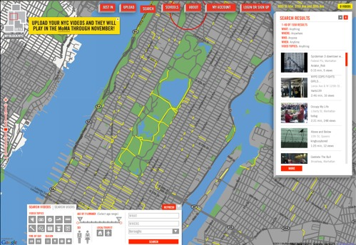 Interactive Video Map Myblocknyc Captures New York Culture On
