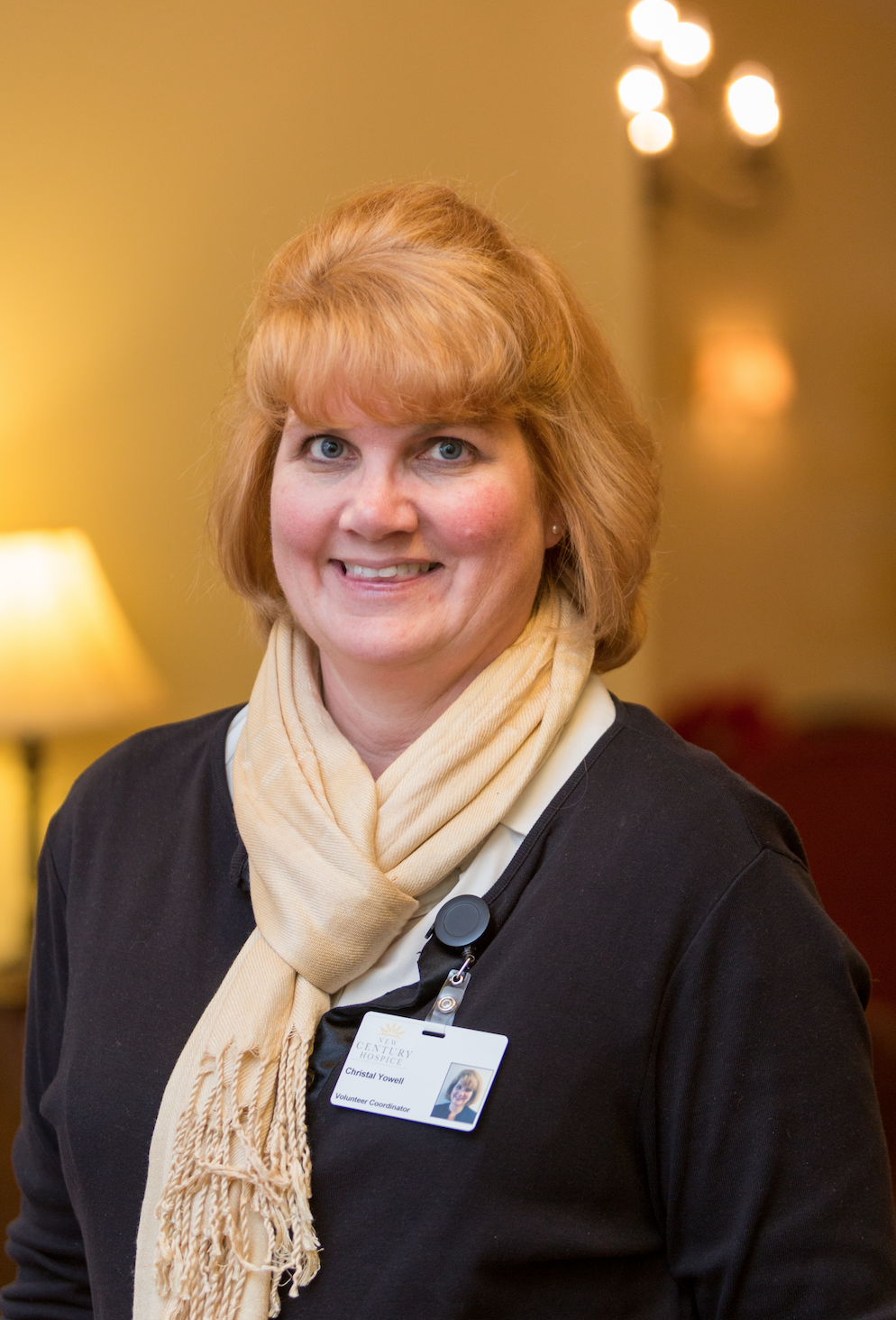 Christal Yowell from New Century Hospice