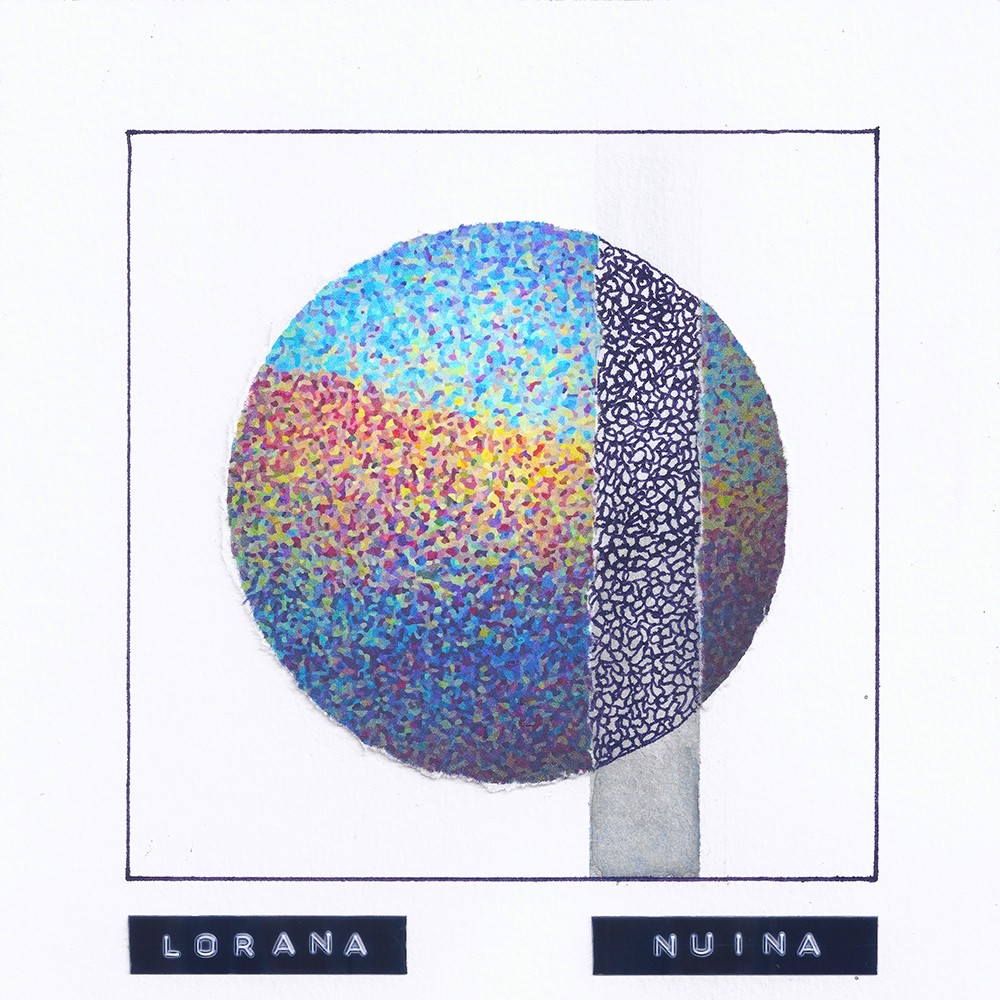 Lorana's debut EP Nuïna cover art