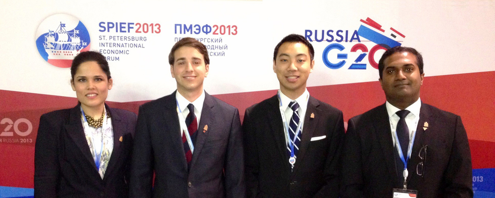 Canadian Delegation at G20 and SPIEF2013.jpg