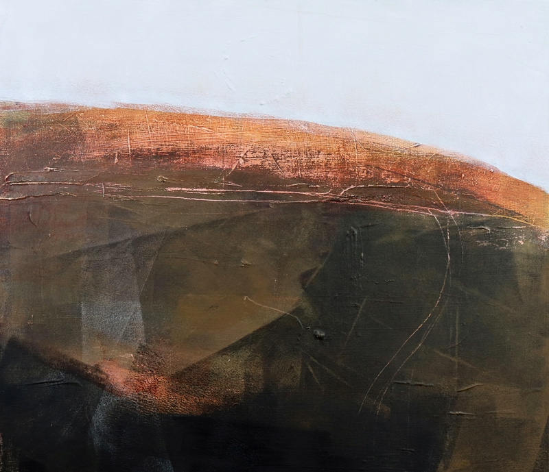 Jill Campbell ,  Fell Morning , Acrylic on canvas
