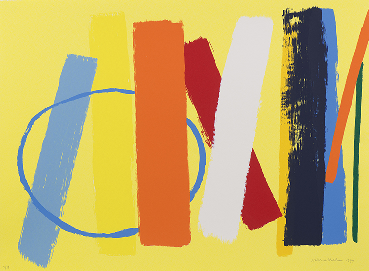 Summer (Yellow), 1999  Screenprint, edition of 100 54.7 x 74 cm