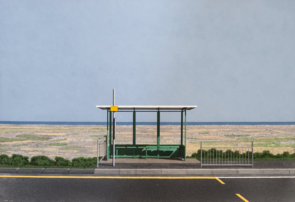 Peter Farr - Bus Stop - New Romney.jpg