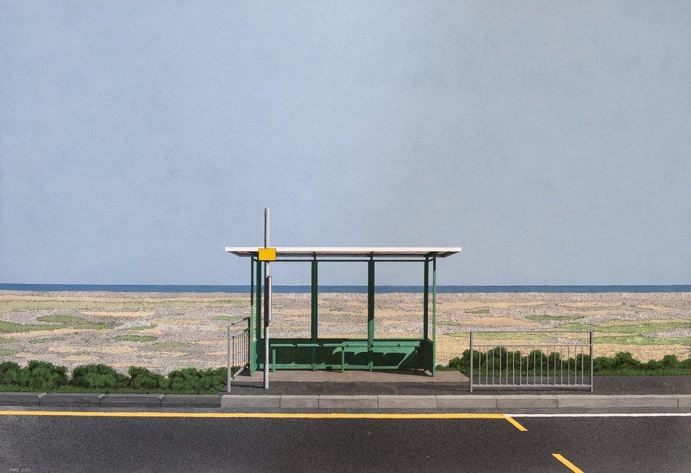 Peter Farr - Bus Stop - New Romney.jpg