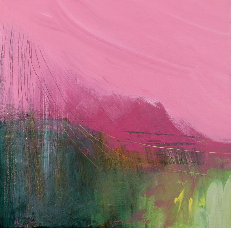Fell XIII  Acrylic on Canvas 40 x 40 cm