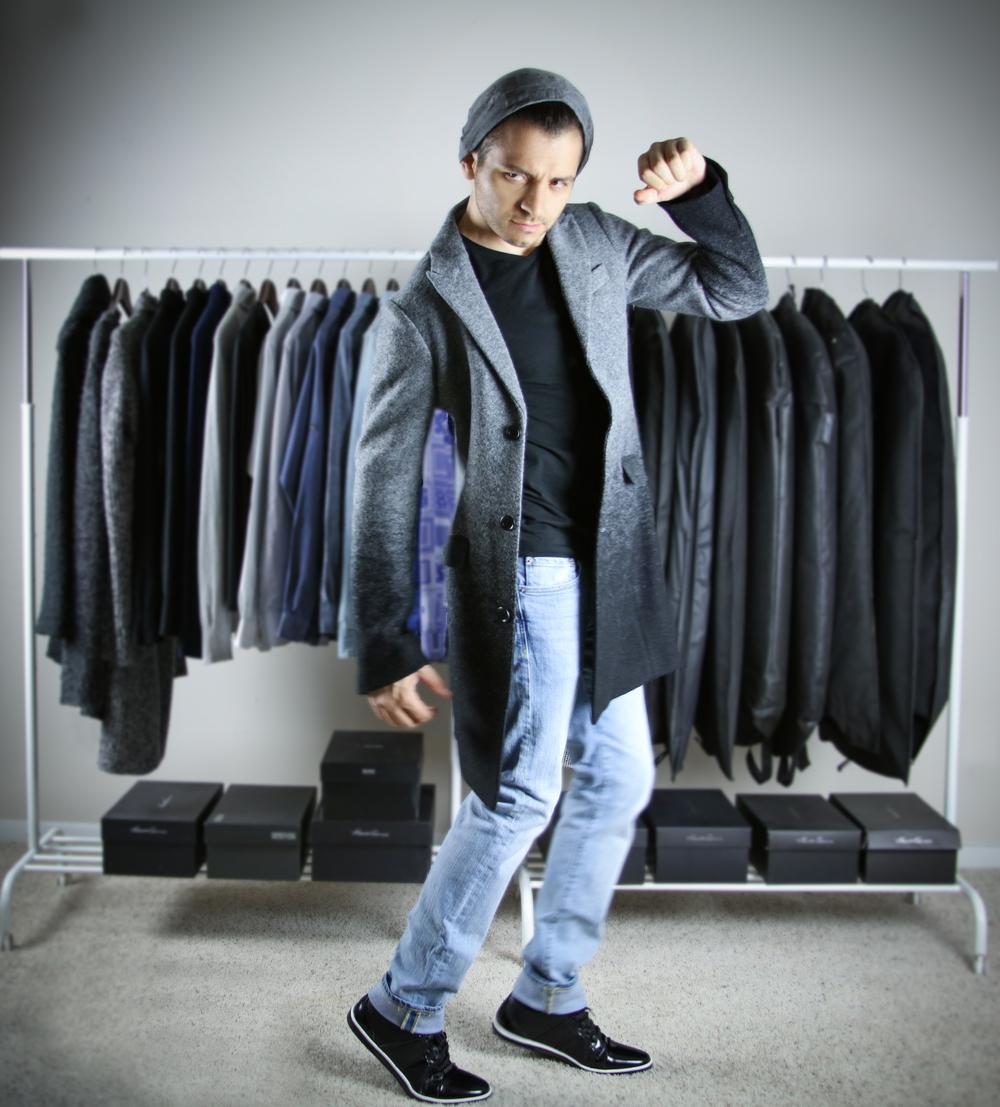 wool coat - option 1