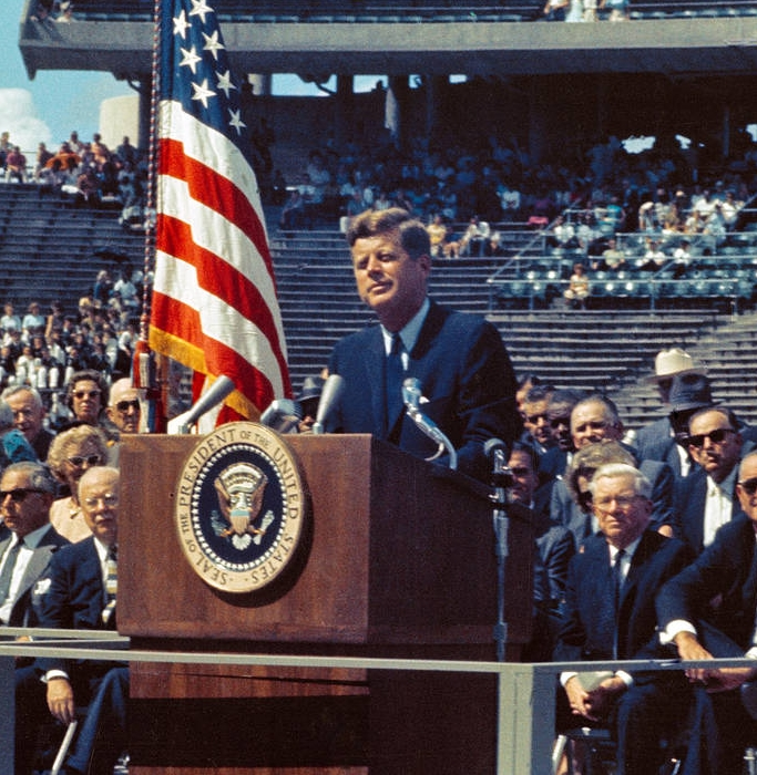 Image taken from https://www.nasa.gov/content/president-kennedys-speech-at-rice-stadium