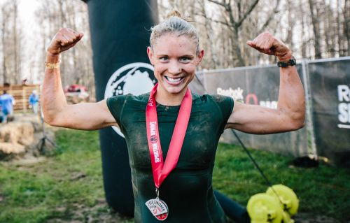 "This is Amelia Boone, who completes agonising endurance and obstacle races. She's one of the most decorated athletes of this kind in the world. Describing herself, she's said:    ""I'm not the strongest. I'm not the fastest. But I'm really good at suffering.""    She's also a full time attorney. Incredible."