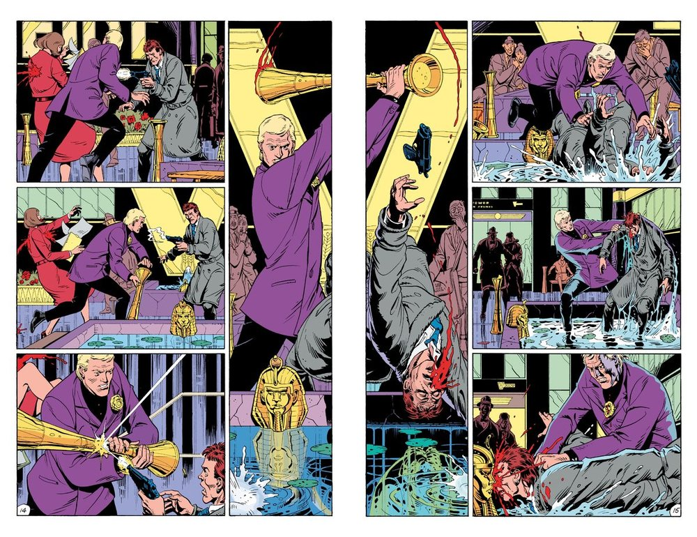 'Fearful Symmetry' from  Watchmen  is a perfect example of why you need the physical book to get the full impact