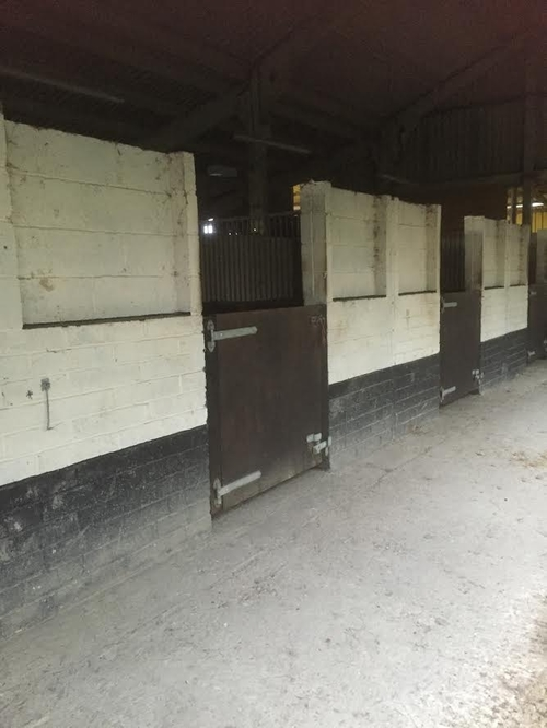 The right hand stable block