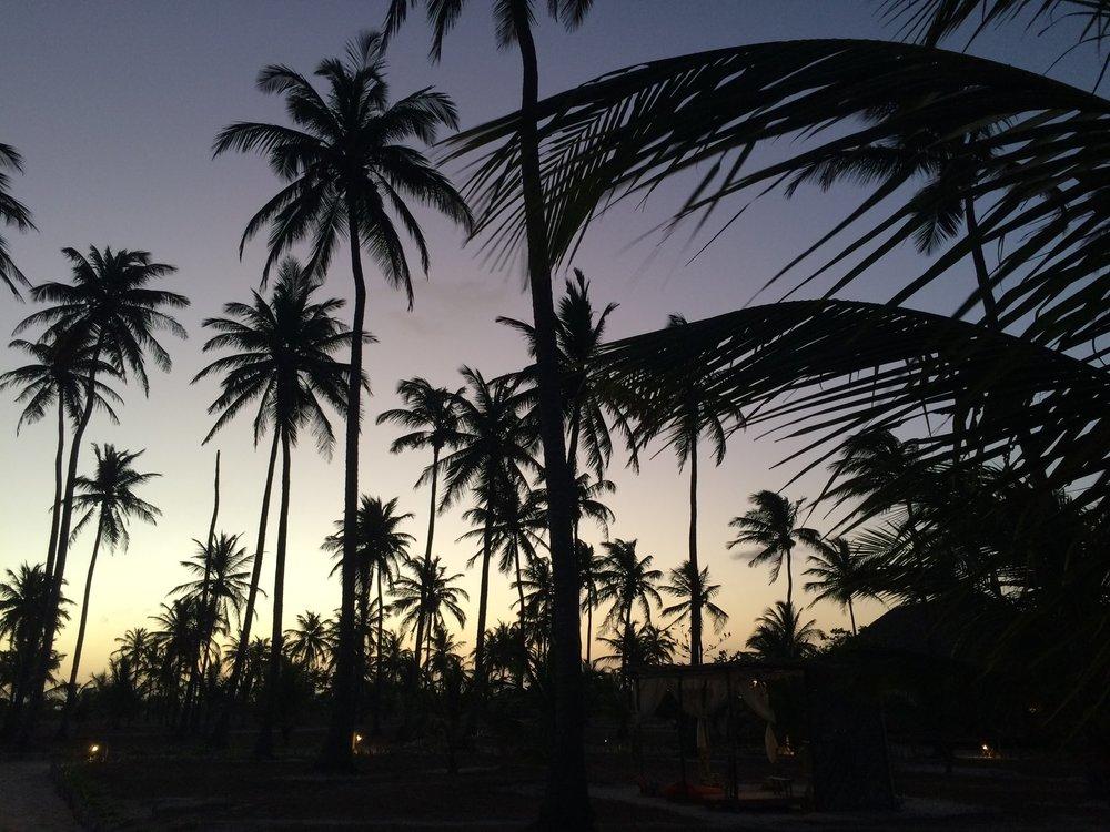 Anoitecer Praia do Preá.