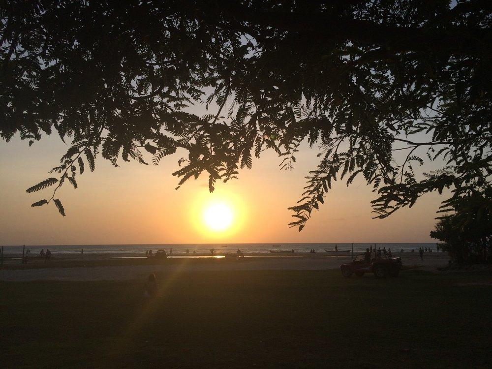 A melhor vista do pôr do sol de Jeri é da Pousada Vila Kalango.