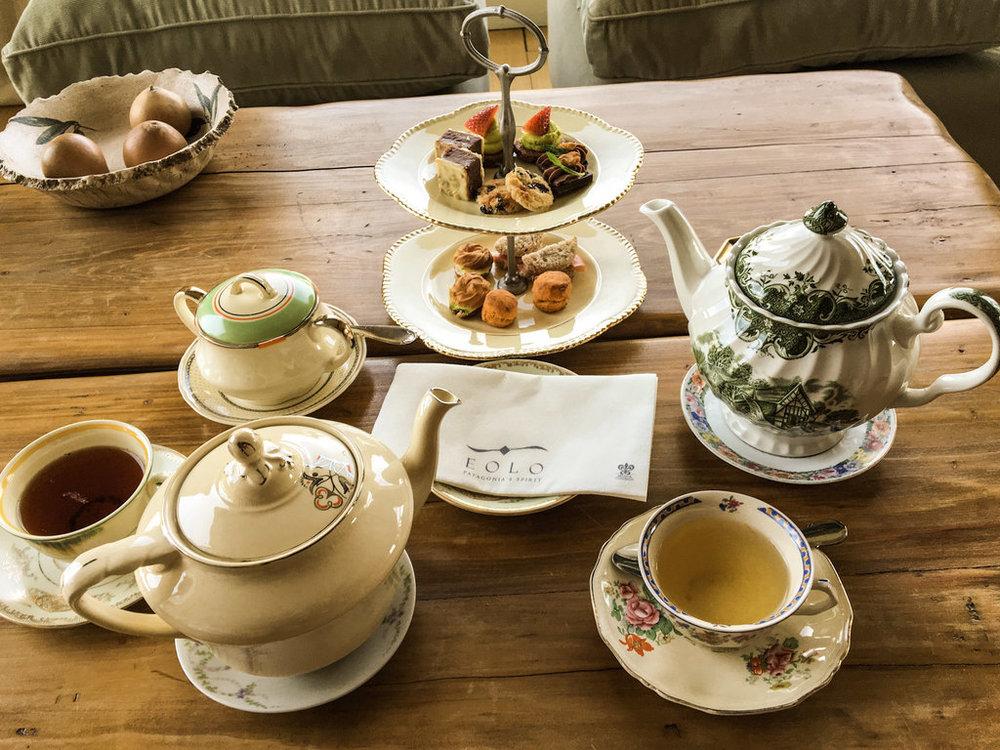 Chá da tarde Eolo Patagonia´s Spirit