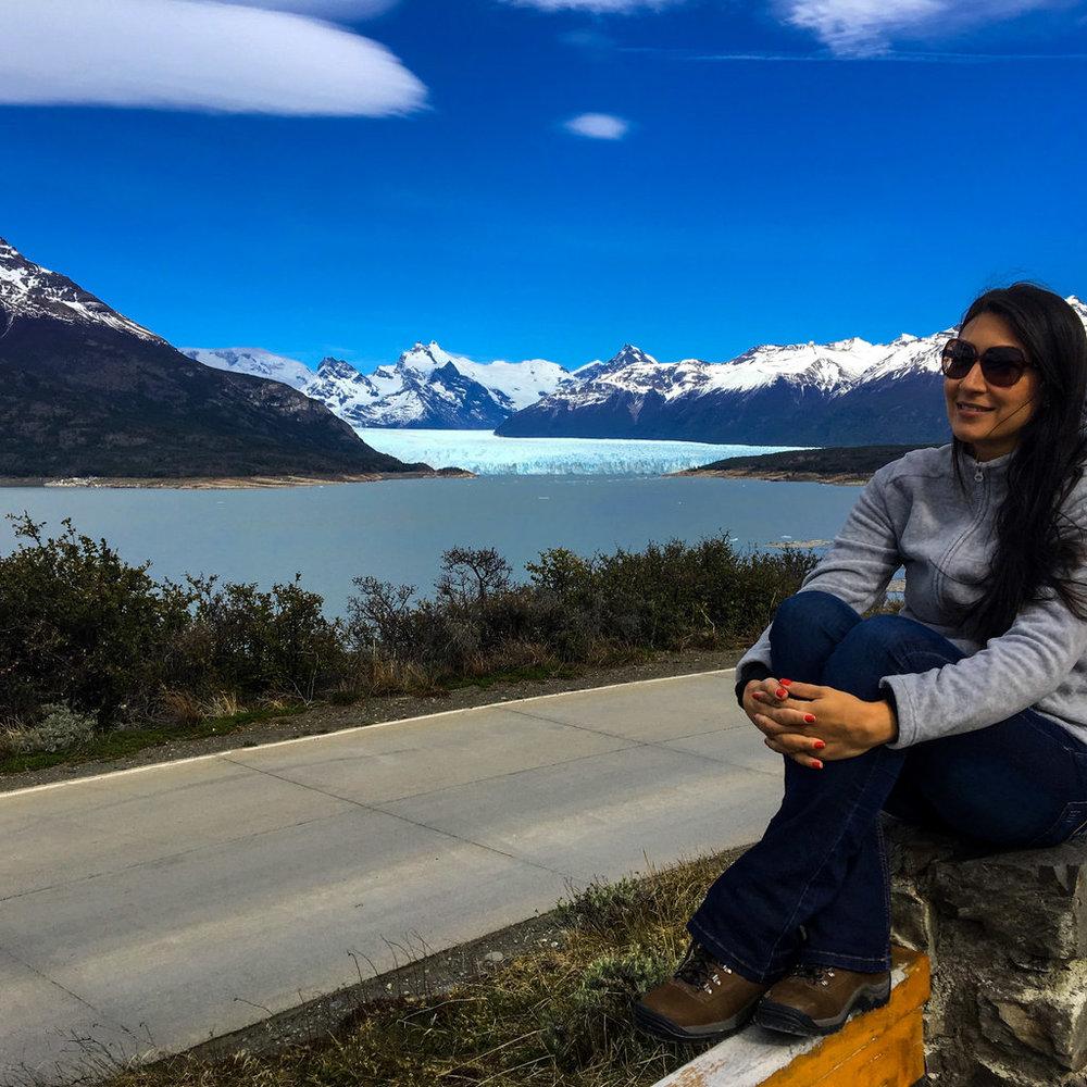 Mirador dos Suspiros-Entrada do Parque Nacional dos Glaciares