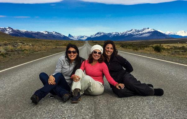 Da esquerda para direita, Roberta Leroy(Leroy Viagens), Renata Araújo (You Must Go Blog) e Adriana Lage (A Camminare).