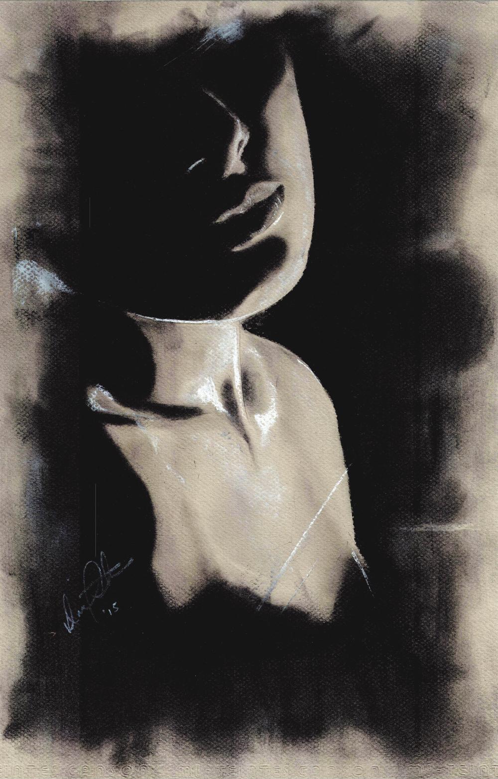 Mystery Woman — Kyra Coates Art