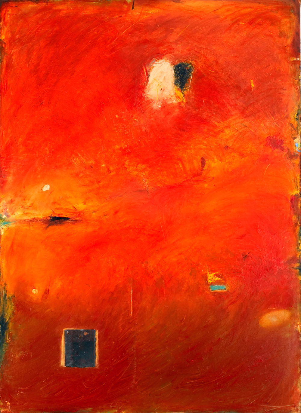 p5. B.111 Oil on canvas with detachable metal. 55 x 41.  2005.jpg