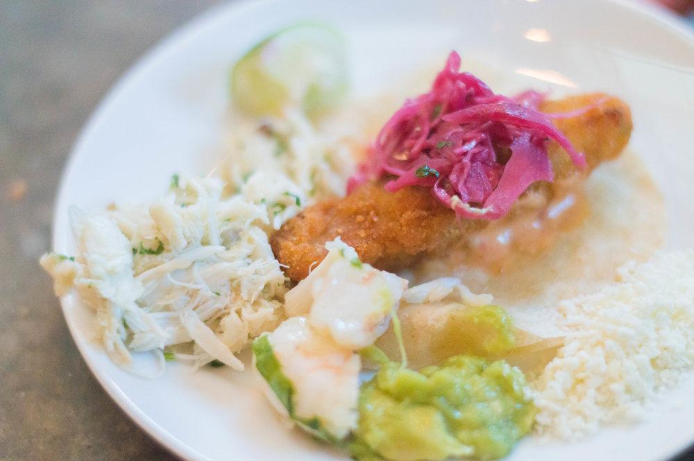 Mahi Tuna Taco from Distrito