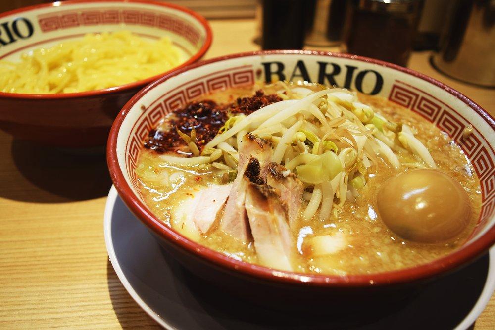 Bario Egg Tsukemen