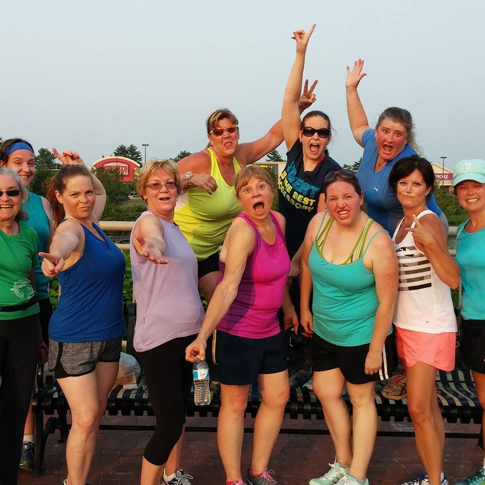 One of Chrissy's 5k fitness programs