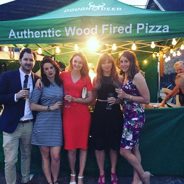 Happy Wedding #danandlousayido #wedding #pizza #doughanddeer