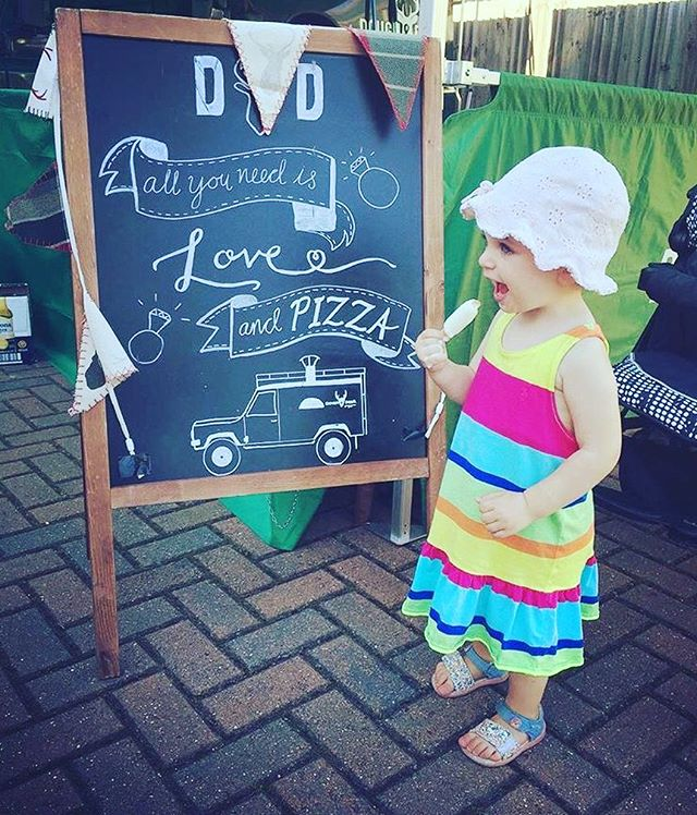 Our Cutest Customer 😍 #doughanddeer #streetparty #hampton