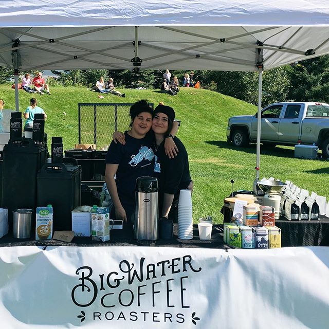 Join us today at the Lake Superior Harvest Festival in Duluth! We will be here until 4 ☕️