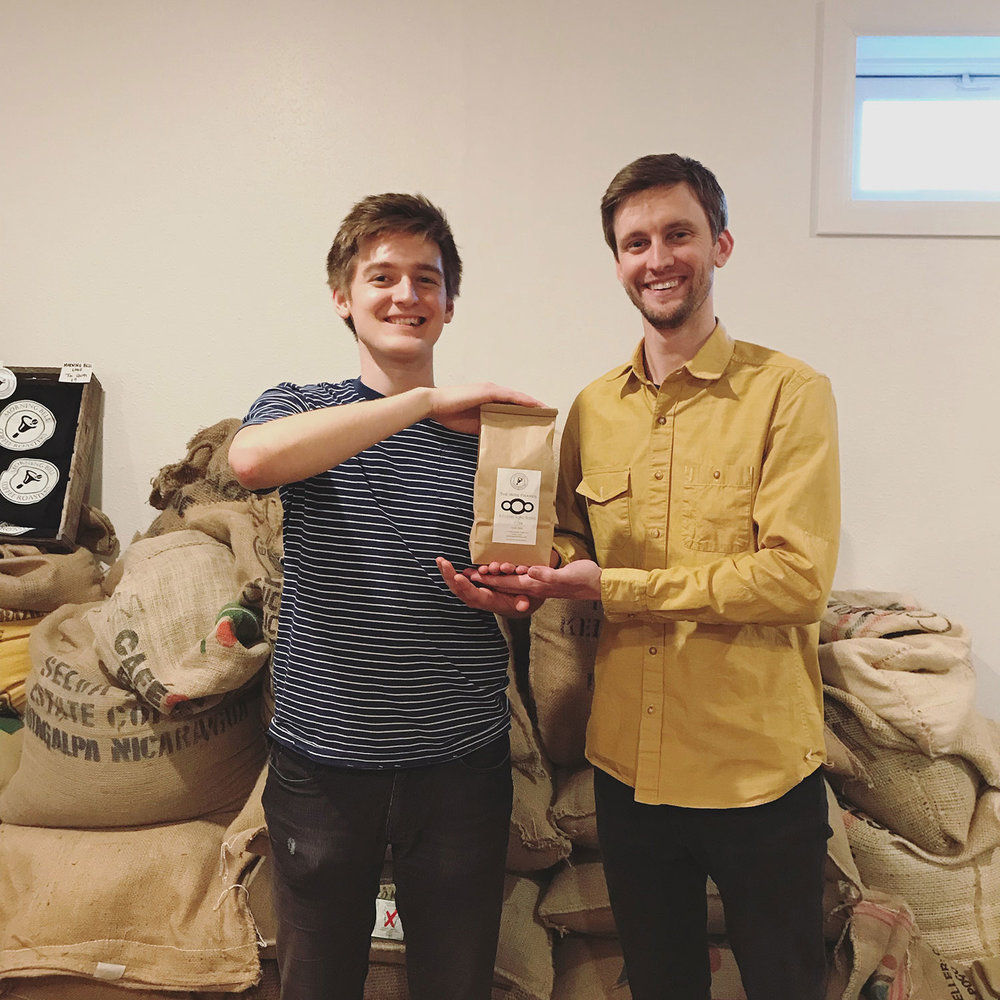 The Wire Frames with A Coffee Song Blend from Morning Bell Coffee Roasters