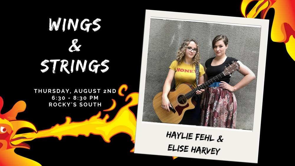 Haylie Fehl and Elise Harvey