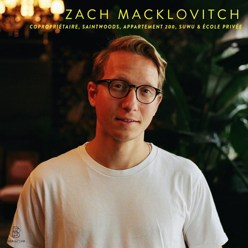 Zach Macklovitch -
