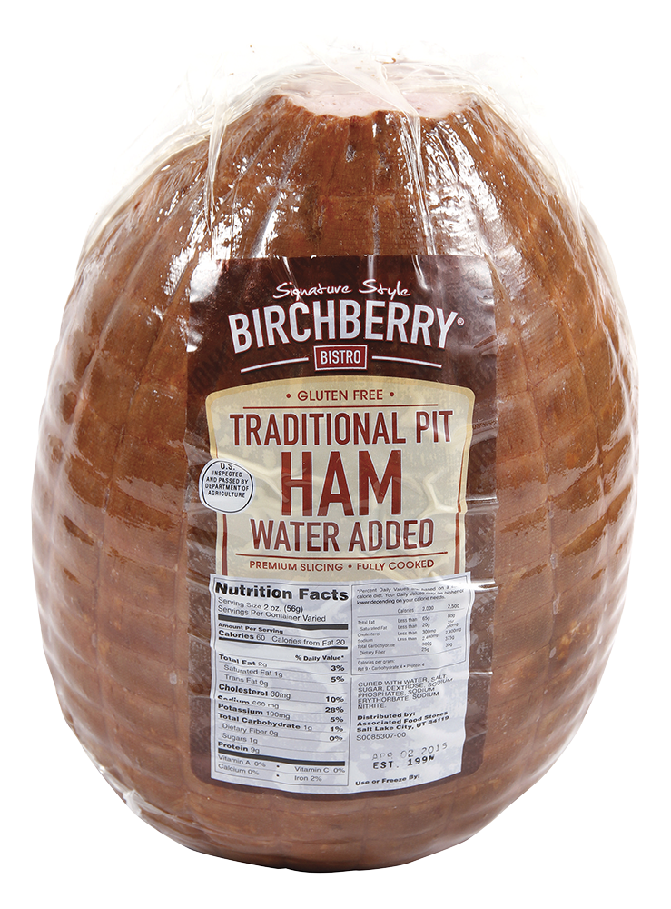 Traditional Pit Ham