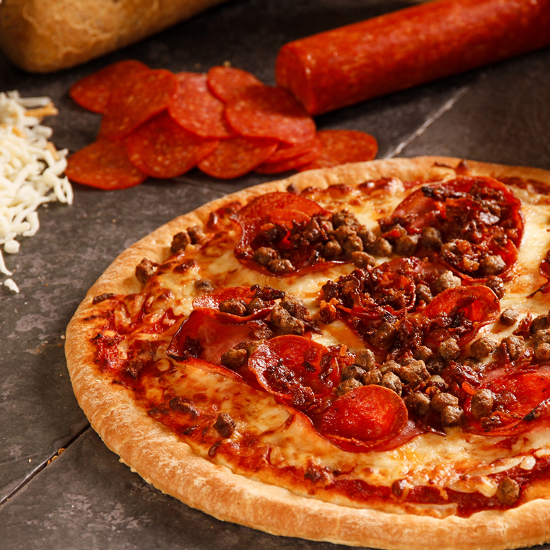 Birchberry Hand Crafted Meat Lovers Pizza
