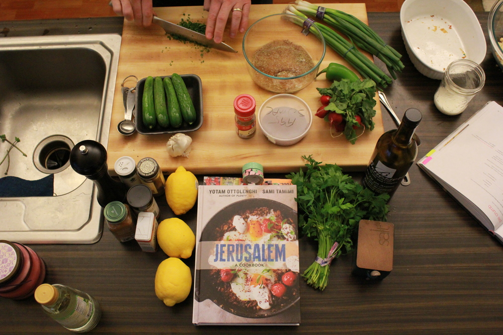 JERUSALEM, A COOKBOOK ADVENTURE