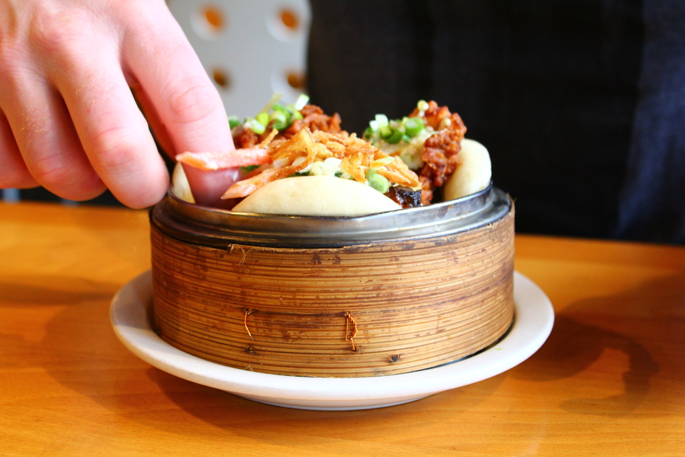 Boke Bowl Fried Chicken Bao