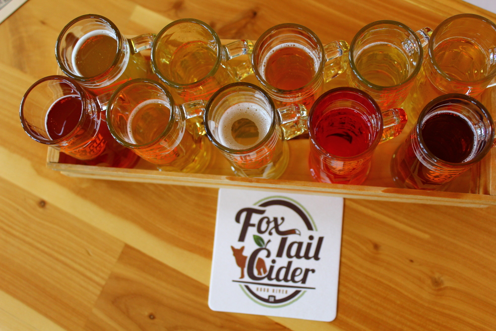 Fox Tail Cider on the Fruit Loop Trail